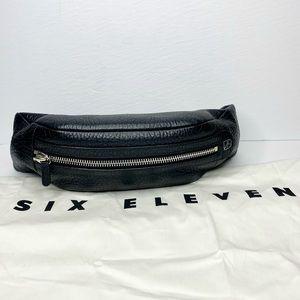 Six Eleven (Aritzia) Faux Leather Waist Pouch